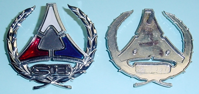 Metal And Plastic Type Emblems