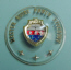'56 Mercury Meteor steering wheel hub car emblem