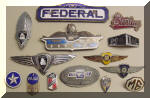 Enameled emblem, Dodge, International, Sterling, Federal, Truck, Paige, Studebaker