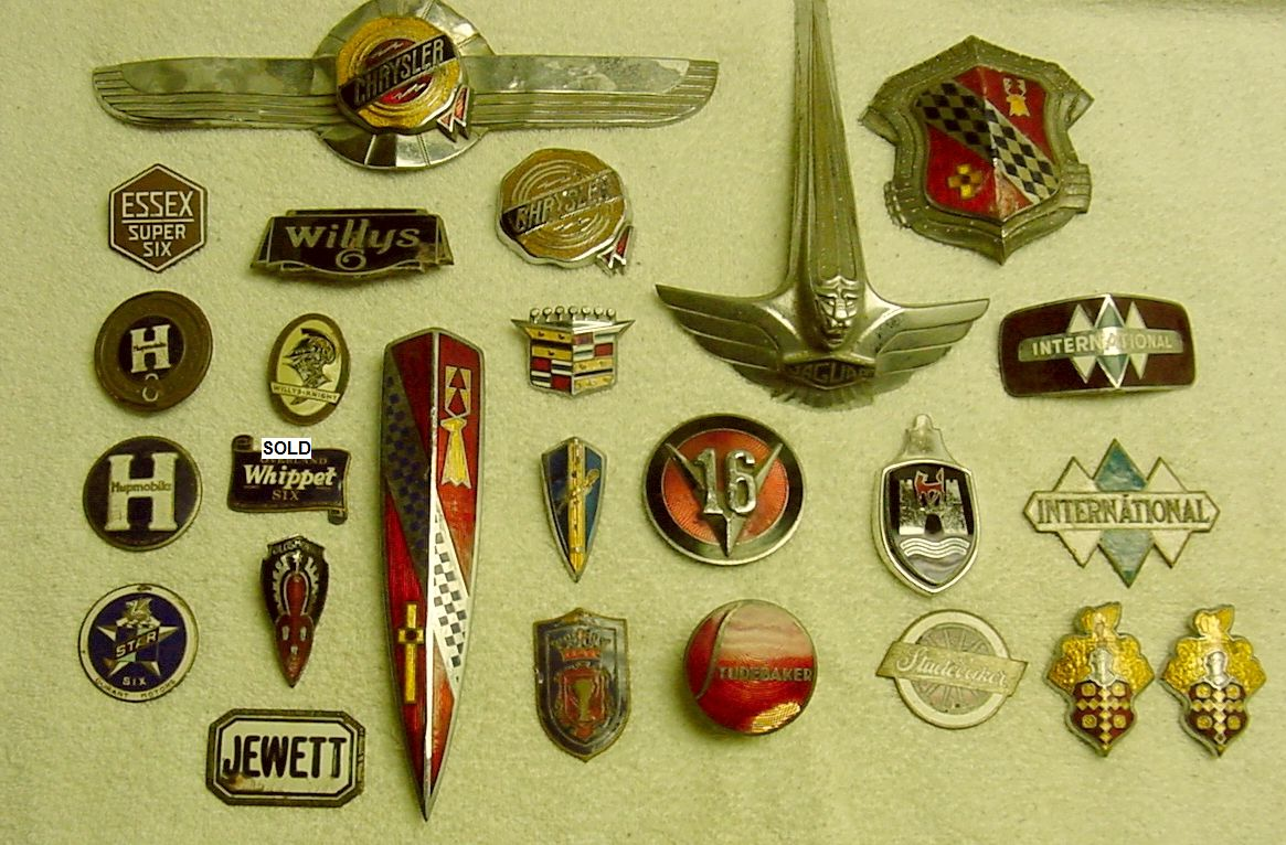 Old Car Badges Emblems