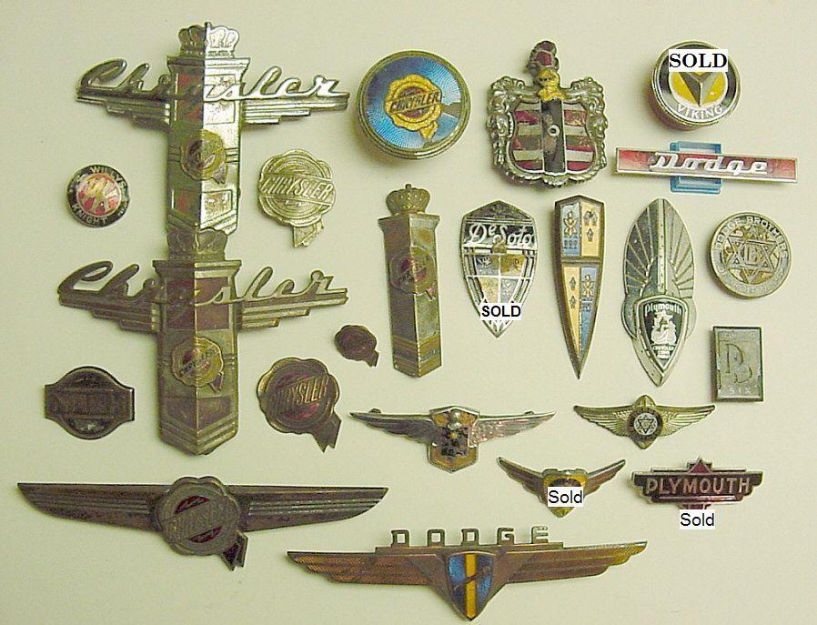 Unred Original Enamel Car Emblems And Badges 7