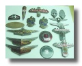 unrestored original enamel car emblems and badges 1