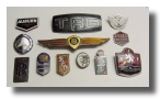 unrestored original enamel car emblems and badges 5