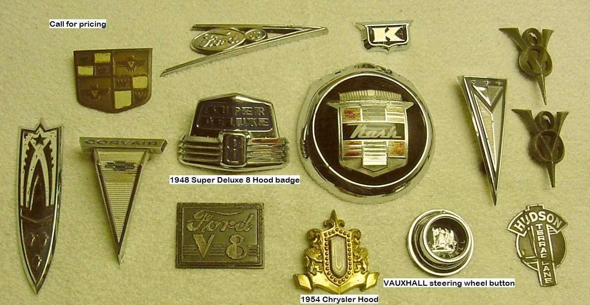 Unclassified Emblems Of Various Types